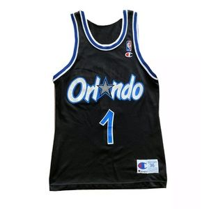Vintage Champion Penny Hardaway Magic NBA Jersey